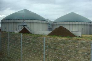 bezoek biogasinstallatie