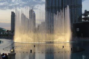 De fonteinen op muziek