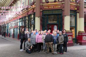 groep in Leadenhall Market