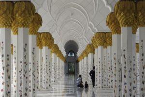 zuilengalerij moskee
