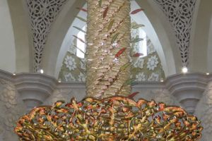 kroonluchter van de moskee