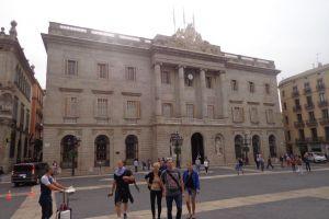 Gemeentehuis aan de plaça Sant Jaume
