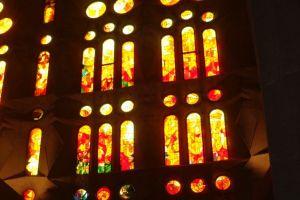 De fantastische ramen van de Sagrada