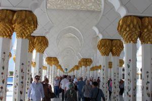 Grote moskee Abu Dhabi