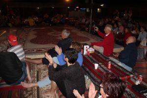 In het bedoeienkamp