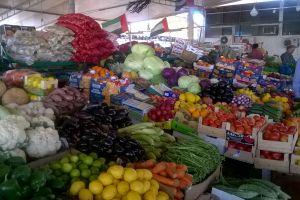 Op de markt in Abu Dhabi