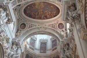 Plafond dom van Passau