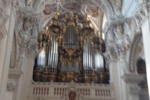 Het beroemde orgel in de dom van Passau