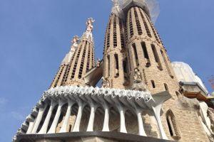 Torens van de Sagrada Familia
