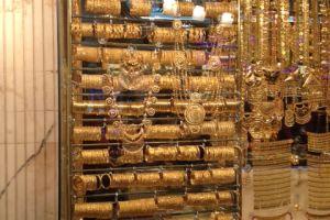Op de goudsouk in Dubai