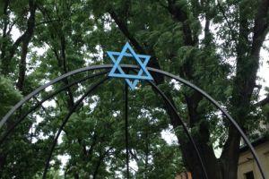 Joodse synagoge in de Joodse wijk van Krakau
