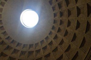 In het Pantheon