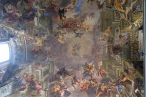 Plafond Ignatius kerk