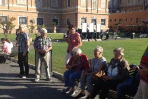 Woensdag Vaticaanse musea met Sixtijnse kapel.