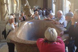 Onze Nederlandse gids in de Vaticaanse musea