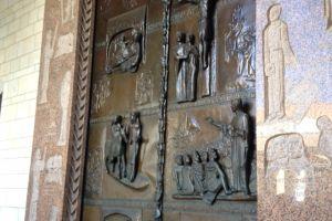 De kerk van de Aankondiging in Nazareth