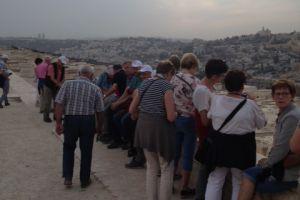 Aankomst Jeruzalem