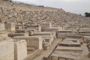 Joodse begraafplaats in Jeruzalem