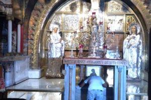 Plaats waar Jezus is gestorven