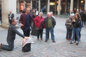 Gezelligheid op Covent Garden