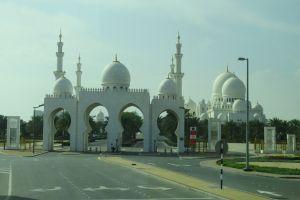 Toegaan moskee Abu Dhabi