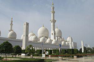 De indrukwekkende moskee van Abu Dhabi