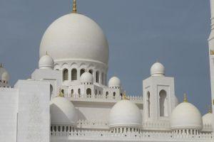 Detail moskee Abu Dhabi