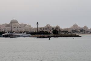 Mooie wijk in Abu Dhabi