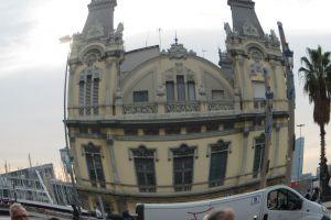 Nabij de oude haven van Barcelona