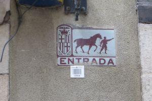In de oude wijk van Barcelona